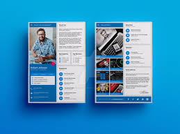 Material Design Resume Cv Template By Iamvinyljunkie On Deviantart