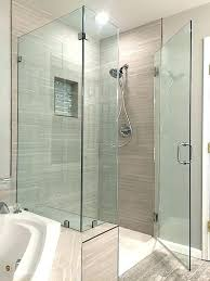 half wall shower glass pony wall shower pony wall shower glass corner shower enclosure over knee half wall shower glass