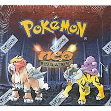Pokemon Neo 3 Revelation Unlimited Booster Box