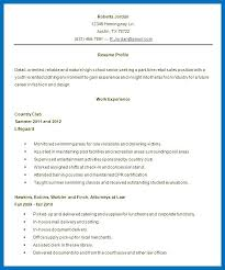 Resume For High School Student With No Work Experience Cool Resume Objective For High School Student Letsdeliverco