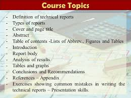 High Impact Technical Writing Course  Updated       Introduction to Report Writing Why write reports