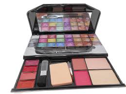 kiss beauty makeup laptop kit collection eye shadow blusher lowest and review