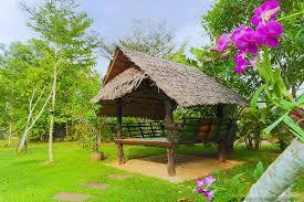garden hut. Thip Residence Boutique Hotel: Small Hut In The Garden
