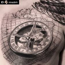 Artist Nina Repost At Ninadinh Close Up Of This Compass And