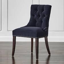 navy velvet armless dining chair armless swivel living room chair