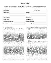 Sample Office Lease Office Lease Termination Letter Sample Sample ...