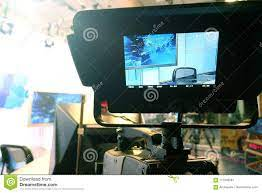 Television Camera. Video Camera-recording Show In TV Studio-focus On Camera  Stock Image - Image of business, broadcast: 111045261