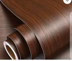 brown wooden pvc self adhesive