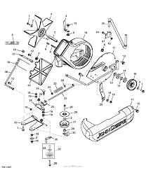John deere parts diagrams john deere power flow blower assembly