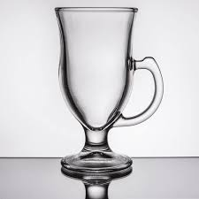 made of clear durable glass this 8 oz mug is perfect for serving up hot beverages in a cozy ski lodge or chilled drinks on a back patio on a hot summers