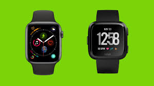 Apple Watch Series 4 V Fitbit Versa Comparing Two Of The
