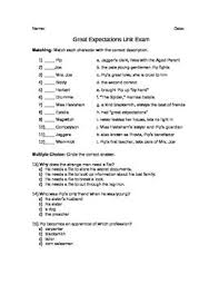 essay on great expectations great expectations unit exam great expectations book