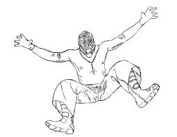 Free Coloring Pages Of Sin Cara Pages 9105, - Bestofcoloring.com
