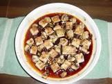 broiled tofu or tempeh