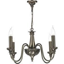 bailey small 4 light chandelier in rich bronze c15