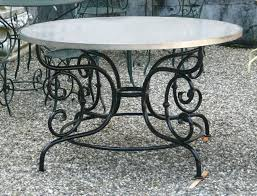 rot iron furniture. Full Size Of Dining Room Round Glass Top Wrought Iron Table Cast Furniture Rot E