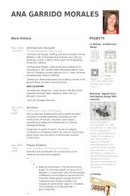 Architectural Designer Resume samples