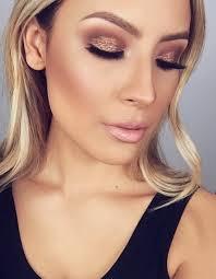 bronze smoky eye makeup