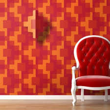 Orange Color Bedroom Walls Paint Designs On Walls