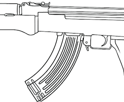 Gun Coloring Pages Guns Coloring Pages To Print Gun Colouring