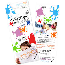 Childcare Flyers Child Care Brochure Templates Free Saffloweroil Info