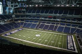 Getting Around Los Field View From Seats Lucas Oil Stadium
