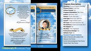 Funeral Program Template Microsoft Unique Funeral Program Template Microsoft Word Best Templates 23