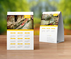 sample design baset on this desk calendar template