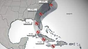 tropical storm watch is in effect ...