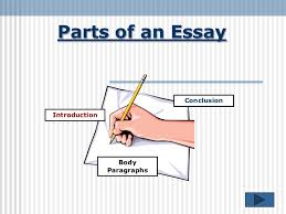 parts of an essay jpg cb  parts of an essay conclusionintroduction body paragraphs introduction