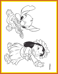 shocking gallery of disney lilo and stitch printable coloring pages pict popular planes style coloring pages