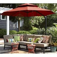 patio treasure garden umbrella garden treasures 5 piece conversation set treasure garden cantilever umbrella parts