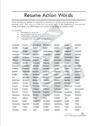 Strong Verbs For Resume Noxdefense Com