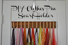Sophisticated Diy Scarf Hanger Ideas Best Idea Home Design