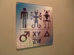 gender neutral bathroom sign funny. Contemporary Gender 22 Craziest Bathroom Signs EVER  SMOSH In Gender Neutral Sign Funny 1