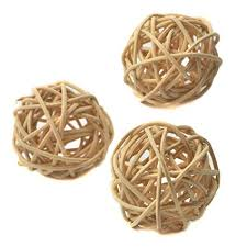 Wicker Balls For Decoration Adorable Amazon Ougual Set Of 32pcs Wicker Rattan Balls Table Wedding