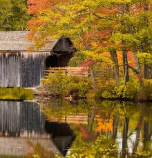 Fall Images Free Covered Bridge In Fall Free Stock Photo Public Domain Pictures