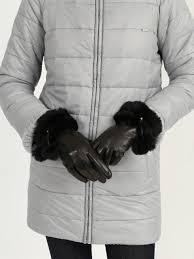 <b>Перчатки Перчатки</b> из меха кролика - НХМТ