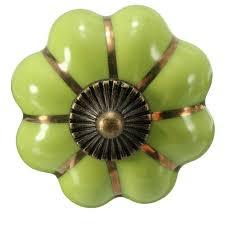apple green furniture. apple green ceramic pumpkin knob 4cm porcelain cupboard cabinet door pulls drawer knobs furniture e