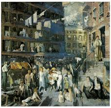 george bellows painting cliff dwellers by george bellows