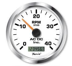 programmable tachometer digital hourmeter 4000 rpm ac dc tachometer 4000 rpm