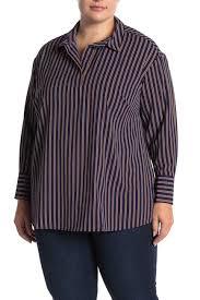 Daniel Rainn Size Chart Dr2 By Daniel Rainn Striped Spread Collar Long Sleeve