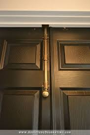 Finished Bi fold Closet Doors Used As Double Doors