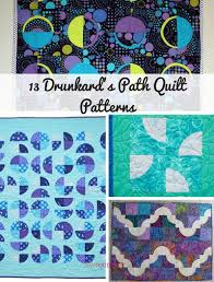 Drunkards Path Quilt Pattern Amazing 48 Drunkard's Path Quilt Patterns FaveQuilts