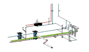 Coleção blocos cad projetos hidráulico, sanitário e águas pluviais. Revit Mep 2019 Instalacoes Hidrossanitarias Residencia De Alto Padrao Portal Cursos Construir
