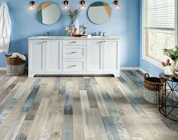 wall colors match with gray flooring
