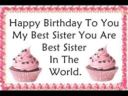Quotes For Sister Birthday Simple Happy Birthday Quotes Wishes For Sister YouTube
