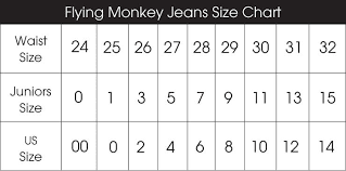 Unique Womens Pant Conversion Chart Womens Jeans Size