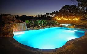 led lighting for your austin texas swimming pool