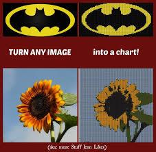 Convert Picture To Knitting Chart Turning Any Image Into A Knit Chart Stuff Jenn Likes